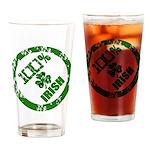 Irish Pride Drinking Glass