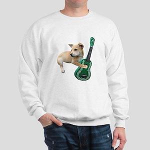 Dog Playing Ukulele Sweatshirt