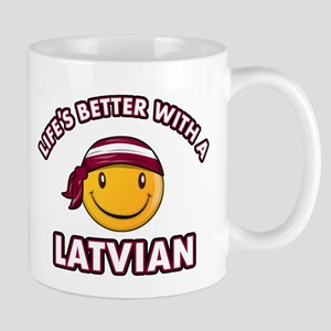 Cute Latvian design Mug