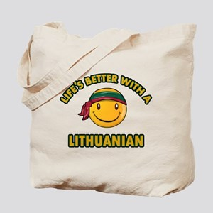 Cute Lithuanian design Tote Bag