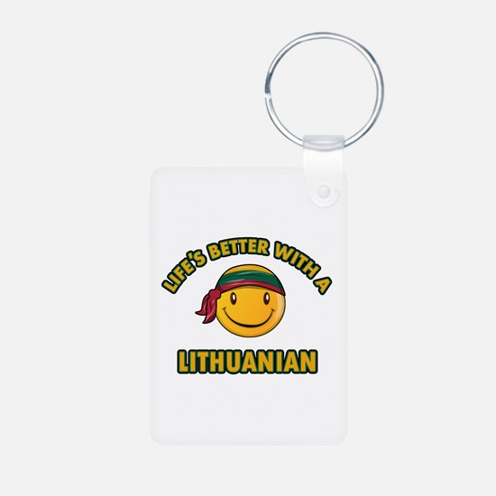 Cute Lithuanian design Keychains