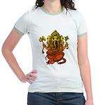 Ganesha7 Jr. Ringer T-Shirt