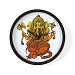 Ganesha7 Wall Clock