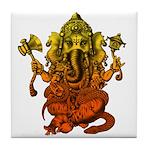 Ganesha7 Tile Coaster