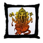 Ganesha7 Throw Pillow