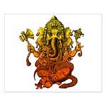 Ganesha7 Small Poster