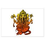 Ganesha7 Large Poster