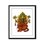 Ganesha7 Framed Panel Print