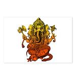 Ganesha7 Postcards (Package of 8)