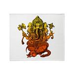 Ganesha7 Throw Blanket