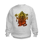 Ganesha7 Kids Sweatshirt
