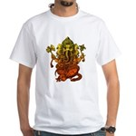 Ganesha7 White T-Shirt