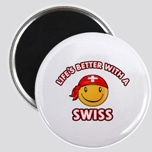 Cute Swiss design Magnet