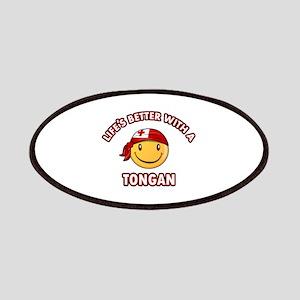 Cute Tongan design Patches