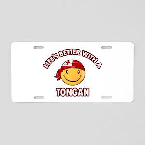 Cute Tongan design Aluminum License Plate