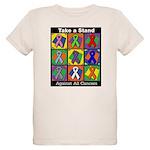 Take a Stand Cancer Ribbons Organic Kids T-Shirt