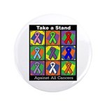 Take a Stand Cancer Ribbons 3.5