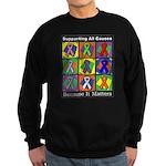 Supporting All Causes Sweatshirt (dark)