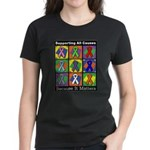 Supporting All Causes Women's Dark T-Shirt