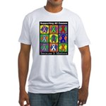 Supporting All Causes Fitted T-Shirt