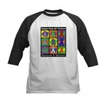 Supporting All Causes Kids Baseball Jersey