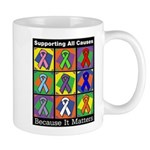 Supporting All Causes Mug