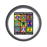 Supporting All Causes Wall Clock