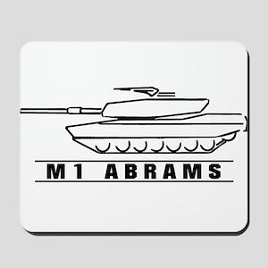 M1 Abrams Mousepad