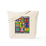 Ribbons Because It Matters Tote Bag