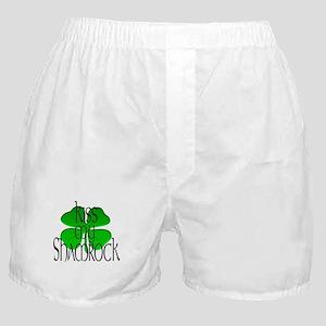 KISS MY SHAMROCK Boxer Shorts