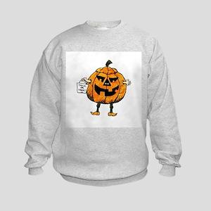 Trick or Treat Kids Sweatshirt