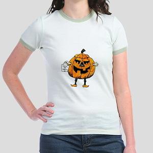 Trick or Treat Jr. Ringer T-Shirt
