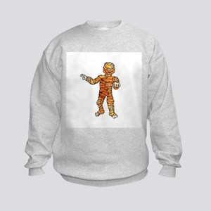 Halloween Mummy Kids Sweatshirt