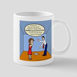 Wrong Lifting Qualification Mug