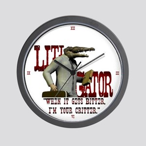 Litigator Attorney Wall Clock