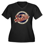 The Other Team Women's Plus Size V-Neck Dark T-Shi