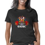 OMMC Coat of Arms with Map Women's Classic T-Shirt