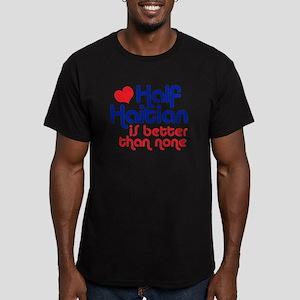 Half Haitian Men's Fitted T-Shirt (dark)