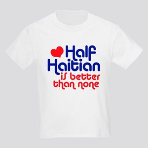 Half Haitian Kids Light T-Shirt
