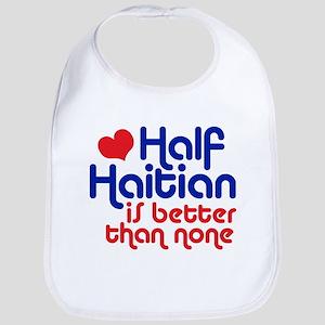 Half Haitian Bib