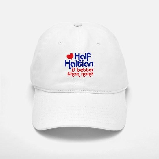 Half Haitian Baseball Baseball Cap
