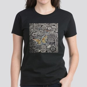 Butterfly Ink Women's Dark T-Shirt