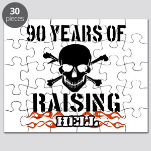 90 years of raising hell Puzzle