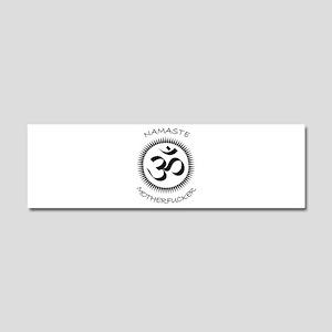 Namaste Car Magnet 10 x 3