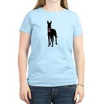 Great Dane Breast Cancer Support Women's Light T-S