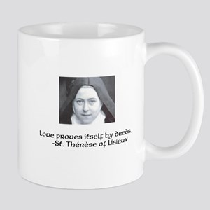 st. Therese on Love Mugs