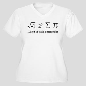 Delicious Women's Plus Size V-Neck T-Shirt