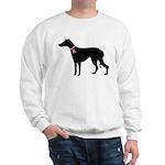 Greyhound Breast Cancer Support Sweatshirt