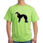 Irish Setter Breast Cancer Support Green T-Shirt