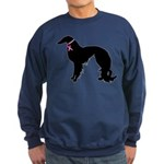 Irish Setter Breast Cancer Support Sweatshirt (dar
